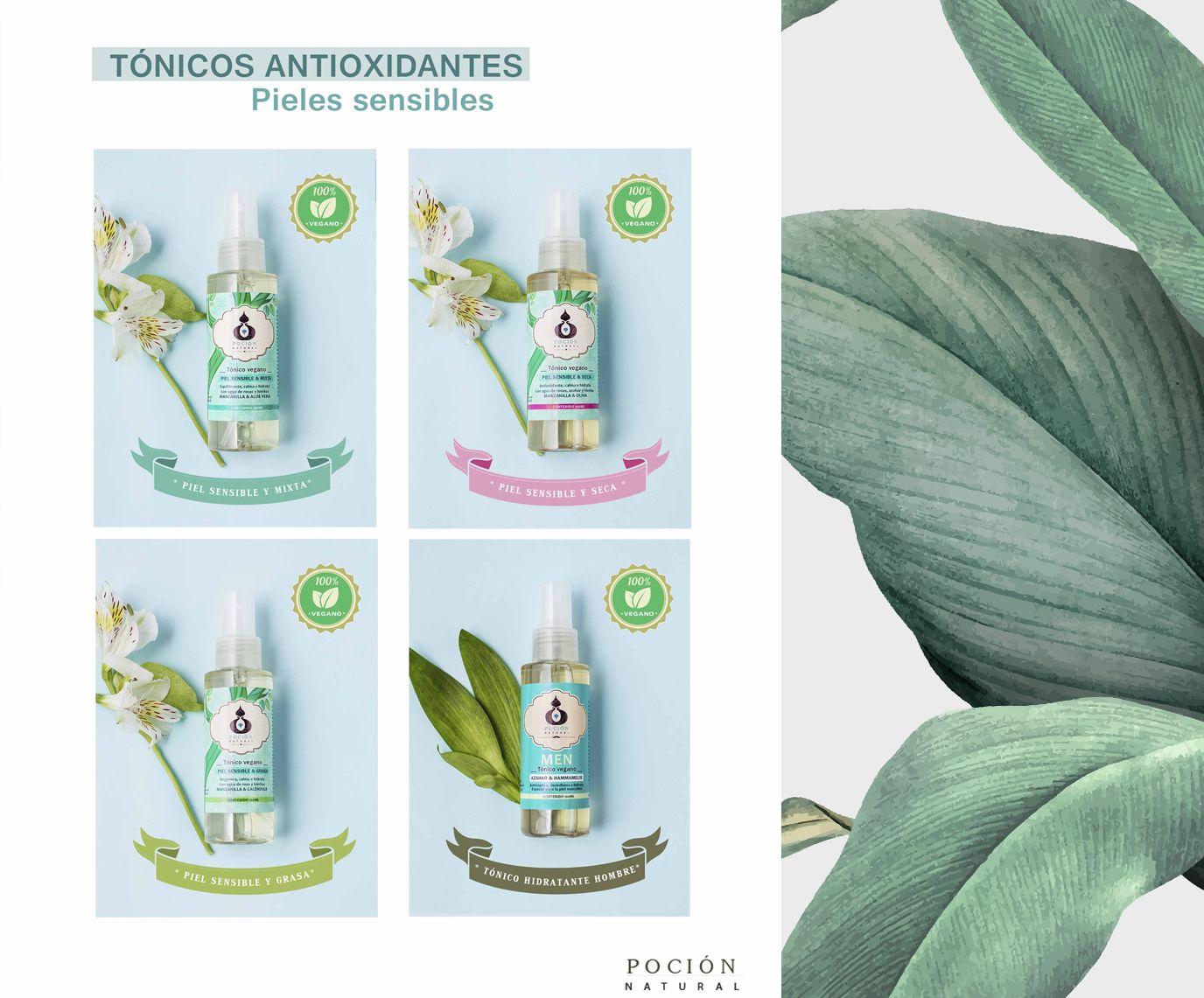 Tónicos Antioxidantes